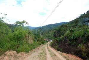 Kemudahan elektrik yang baharu saja dinikmati orang kampung