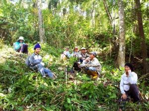 Berehat - 'Mitatabang' penduduk Kg Tampasak Liwan, Tambunan
